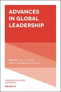 Advances in Global Leadership cover